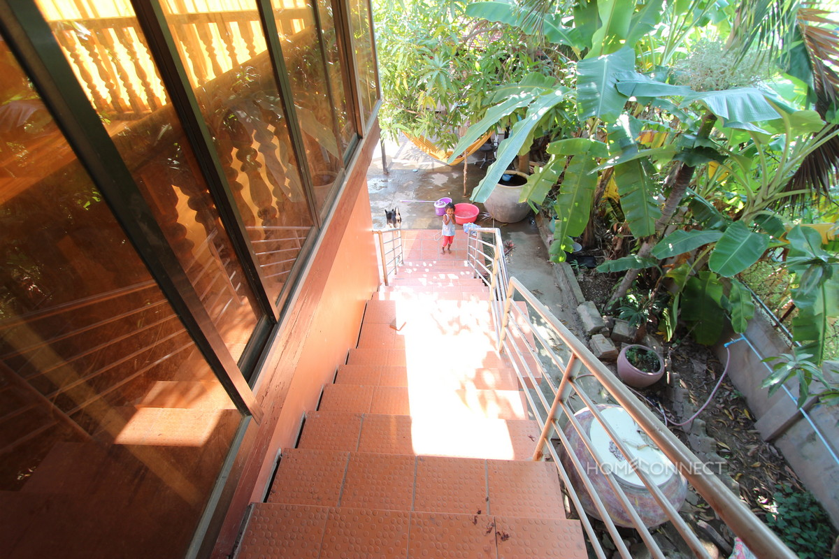Wooden Villa for Rent in Russei Keo | Phnom Penh Real Estate