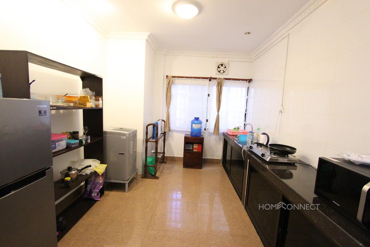 Large Terrace 1 Bedroom Apartment For Rent in BKK1 | Phnom Penh Real Estate
