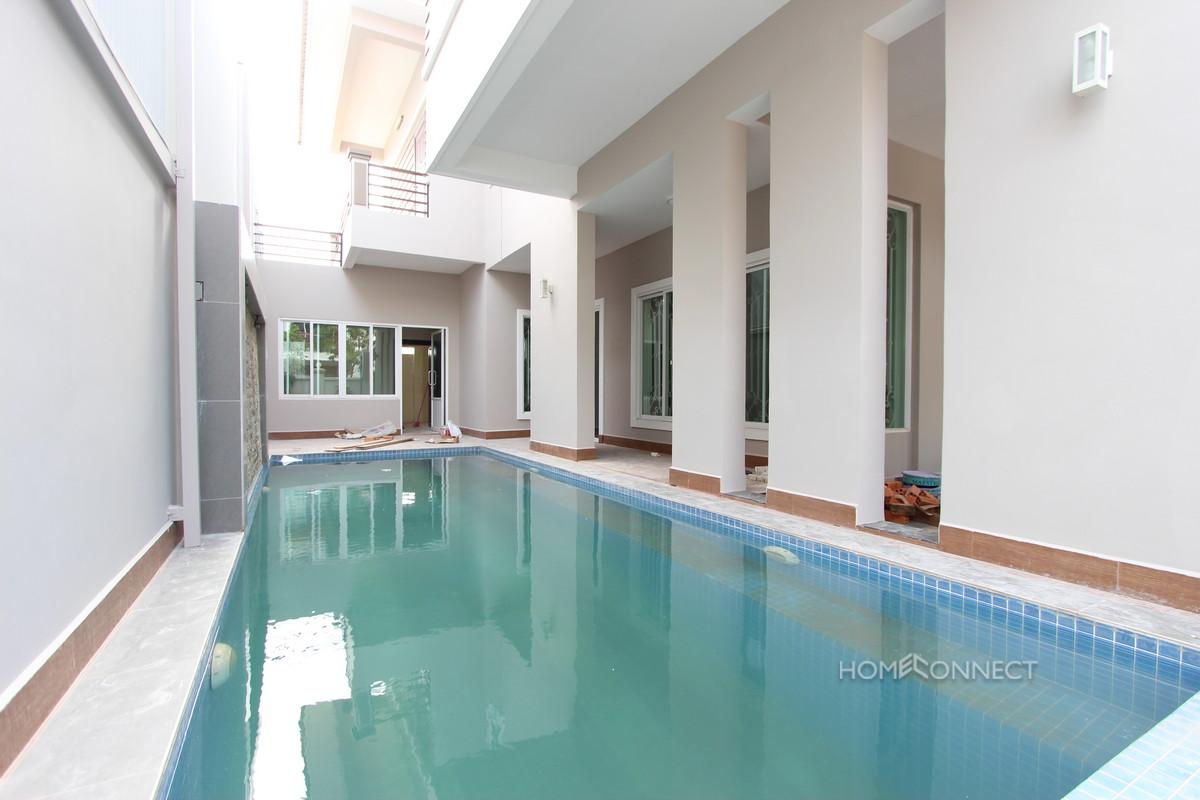 Private Pool 4 Bedroom Villa For Rent Near Aeon Mall | Phnom Penh Real Estate