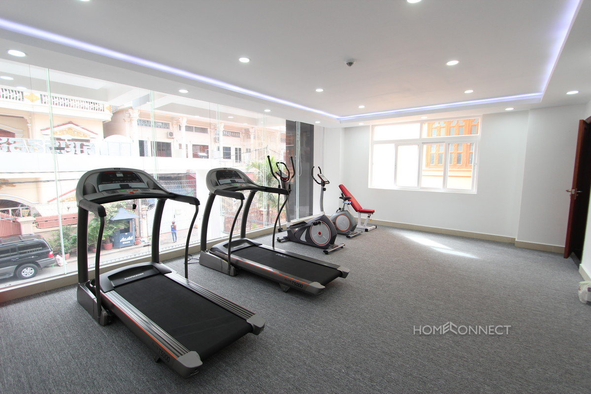 Modern 1 Bedroom Apartment For Rent Beside Olympic Stadium | Phnom Penh Real Estate