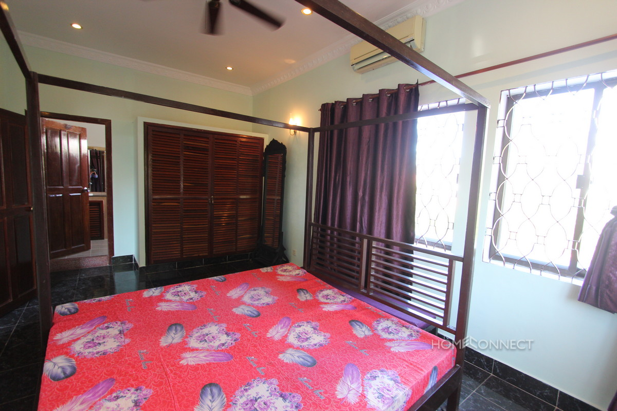 Quiet and Secure Townhouse in Tonle Bassac | Phnom Penh Real Estate