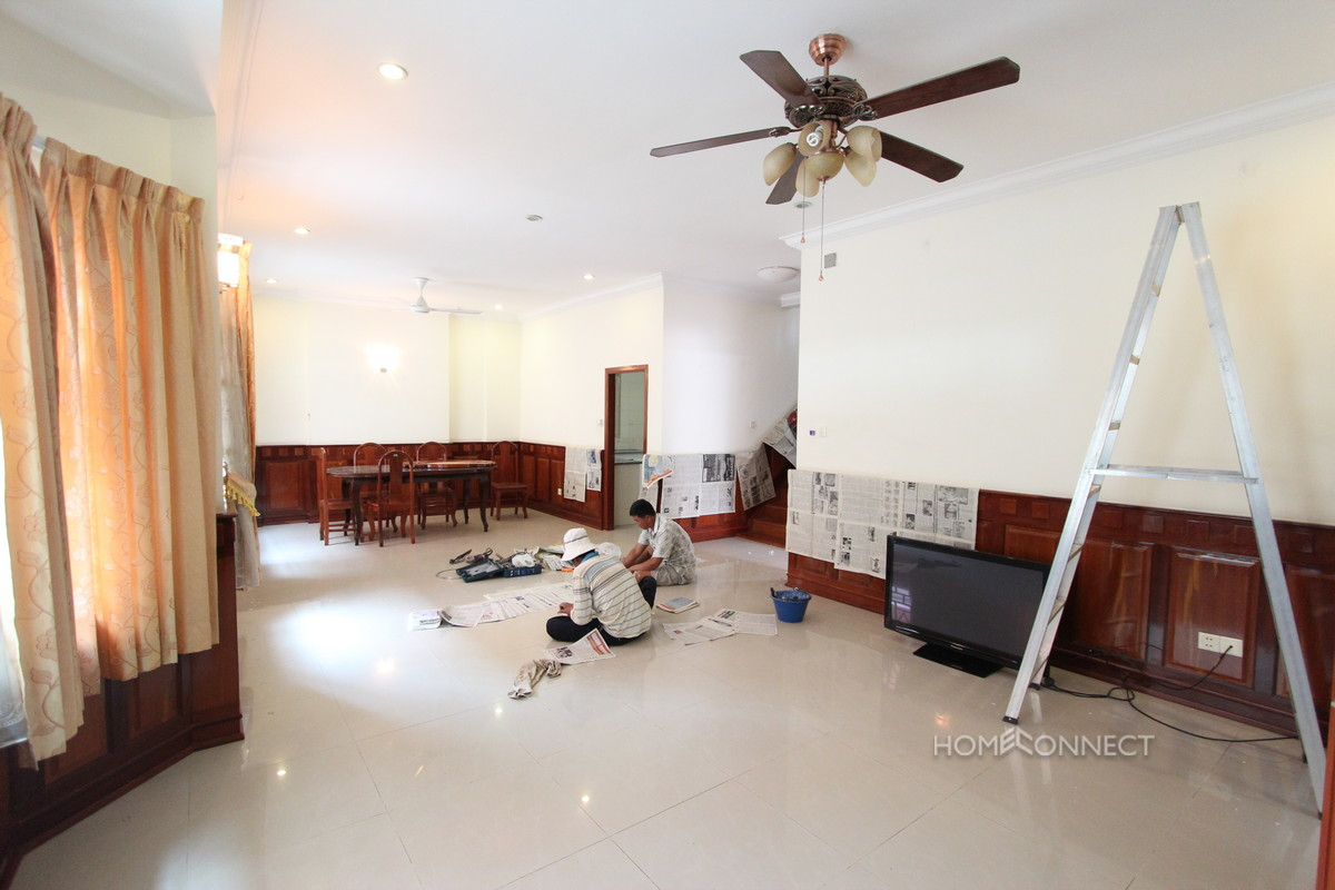 Secure 4 Bedroom Family Villa in Tonle Bassac | Phnom Penh Real Estate