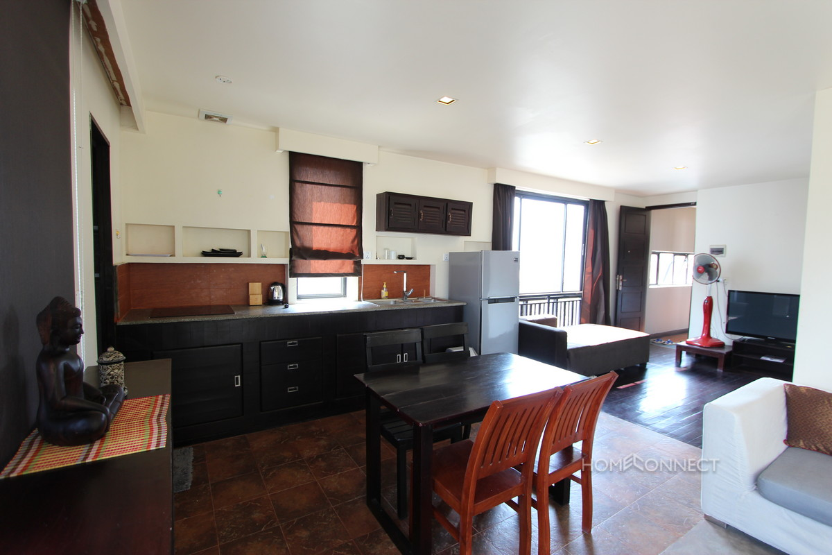 Contemporary 1 Bedroom Apartment For Rent In BKK1 | Phnom Penh Real Estate