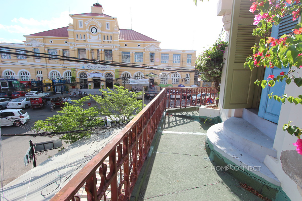 Historic French Colonial 1 Bedroom Apartment For Sale | Phnom Penh Real Estate