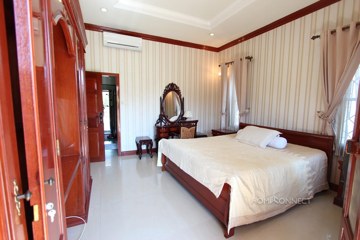 Private Pool 4 Bedroom Villa For Rent In Tonle Bassac | Phnom Penh Real Estate