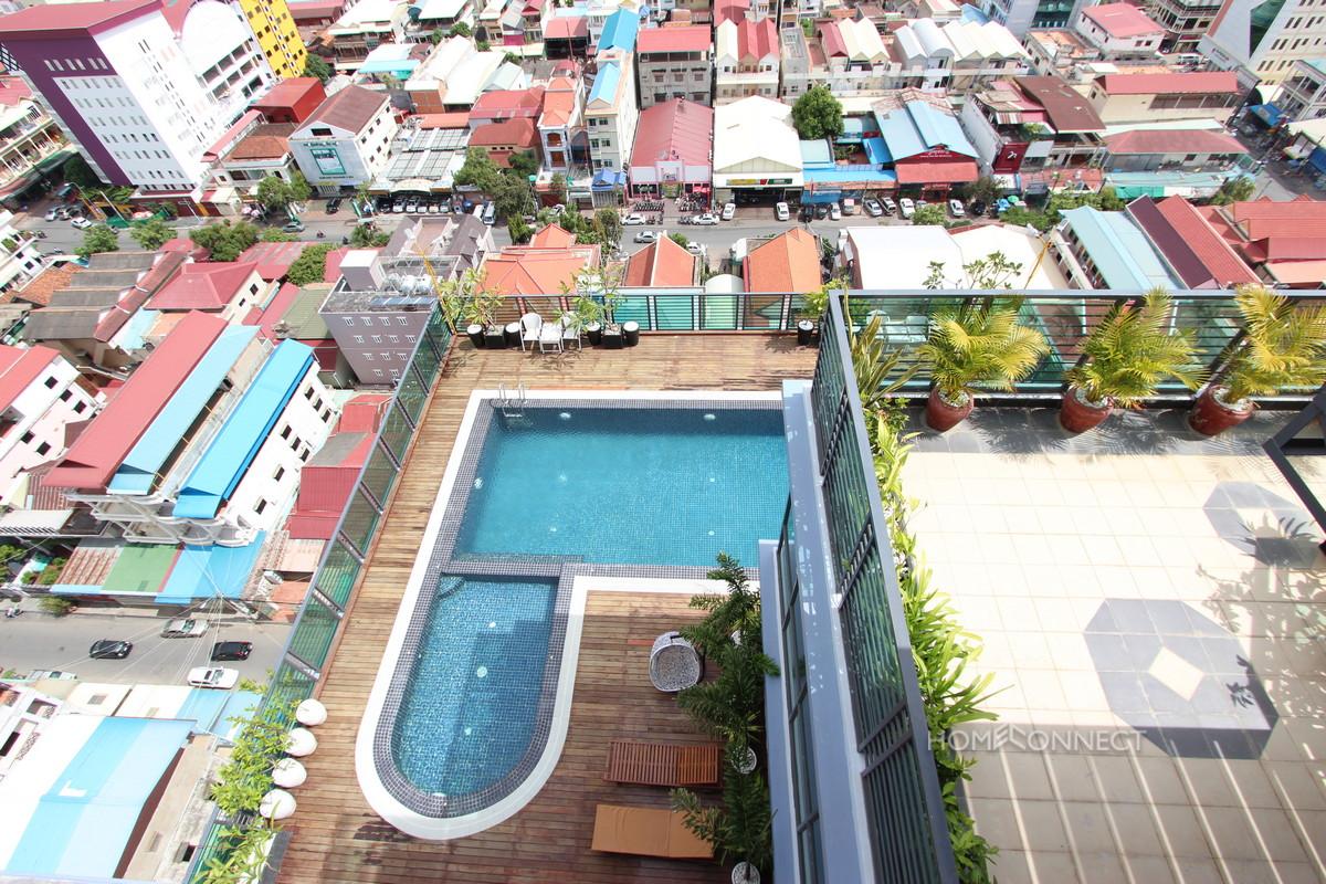 Large 5 Bedroom Penthouse in BKK3 | Phnom Penh Real Estate