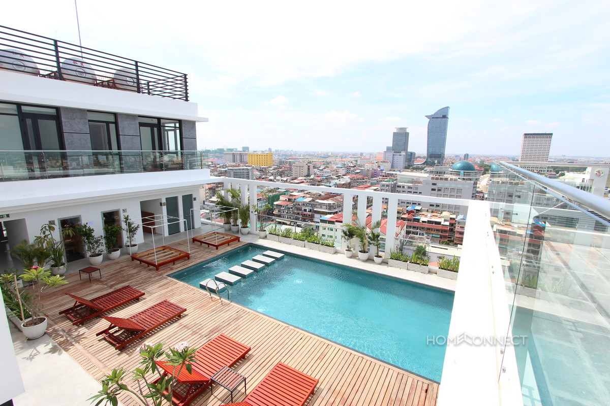 New 2 Bedroom Condominium Apartment in Central Phnom Penh Real Estate