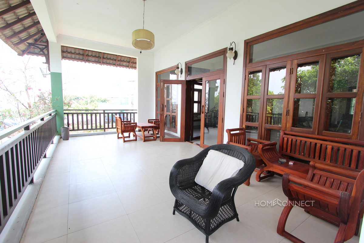 Private Pool 5 Bedroom Villa For Rent In Chroy Chungva | Phnom Penh Real Estate