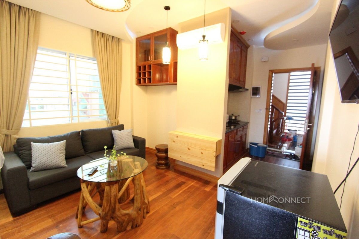Fully Serviced 1 Bedroom Apartment For Rent in Daun Penh | Phnom Penh Real Estate