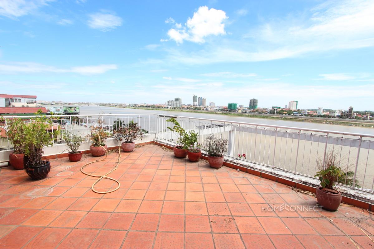 Large 3 Bedroom Riverside Apartment With River Views | Phnom Penh Real Estate