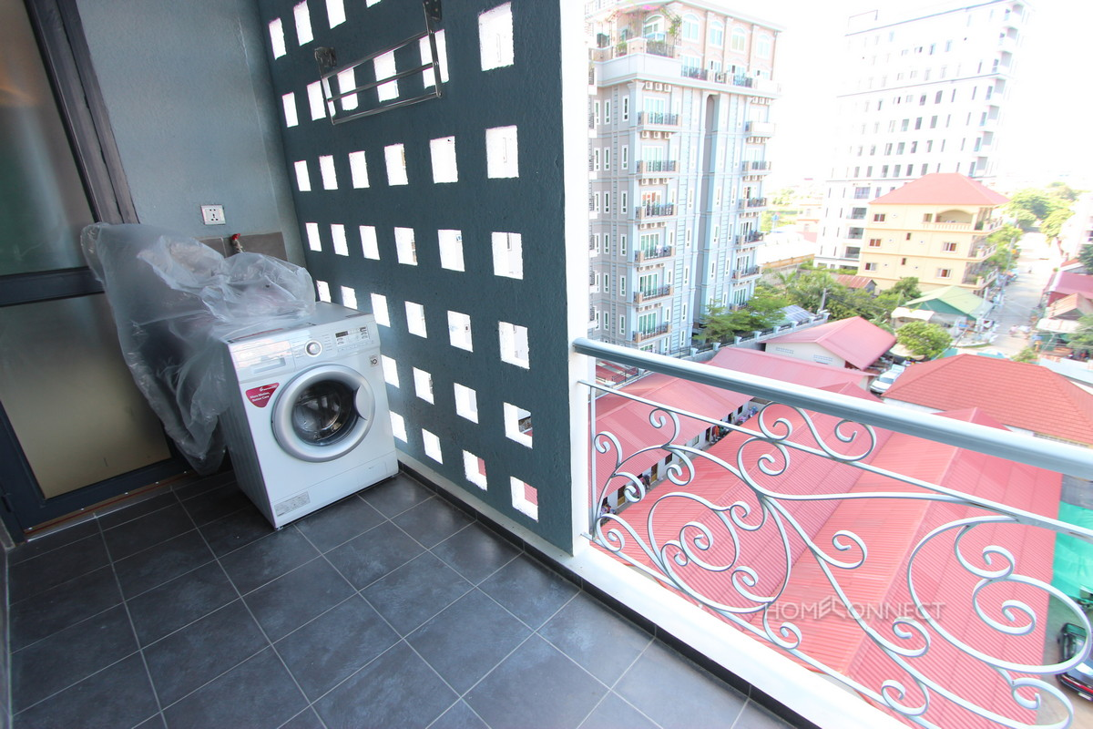 Modern Design 1 Bedroom Apartment Near Russian Market | Phnom Penh Real Estate