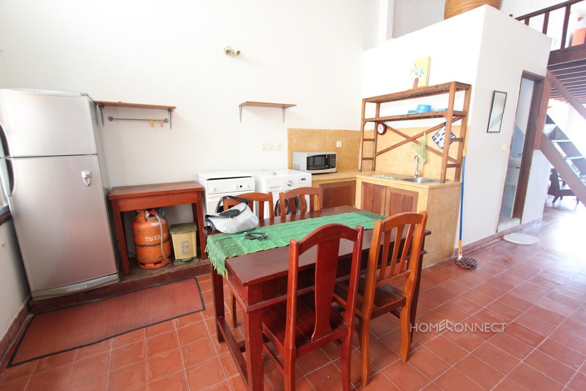 Large Terrace 2 Bedroom Apartment For Rent on Riverside | Phnom Penh Real Estate