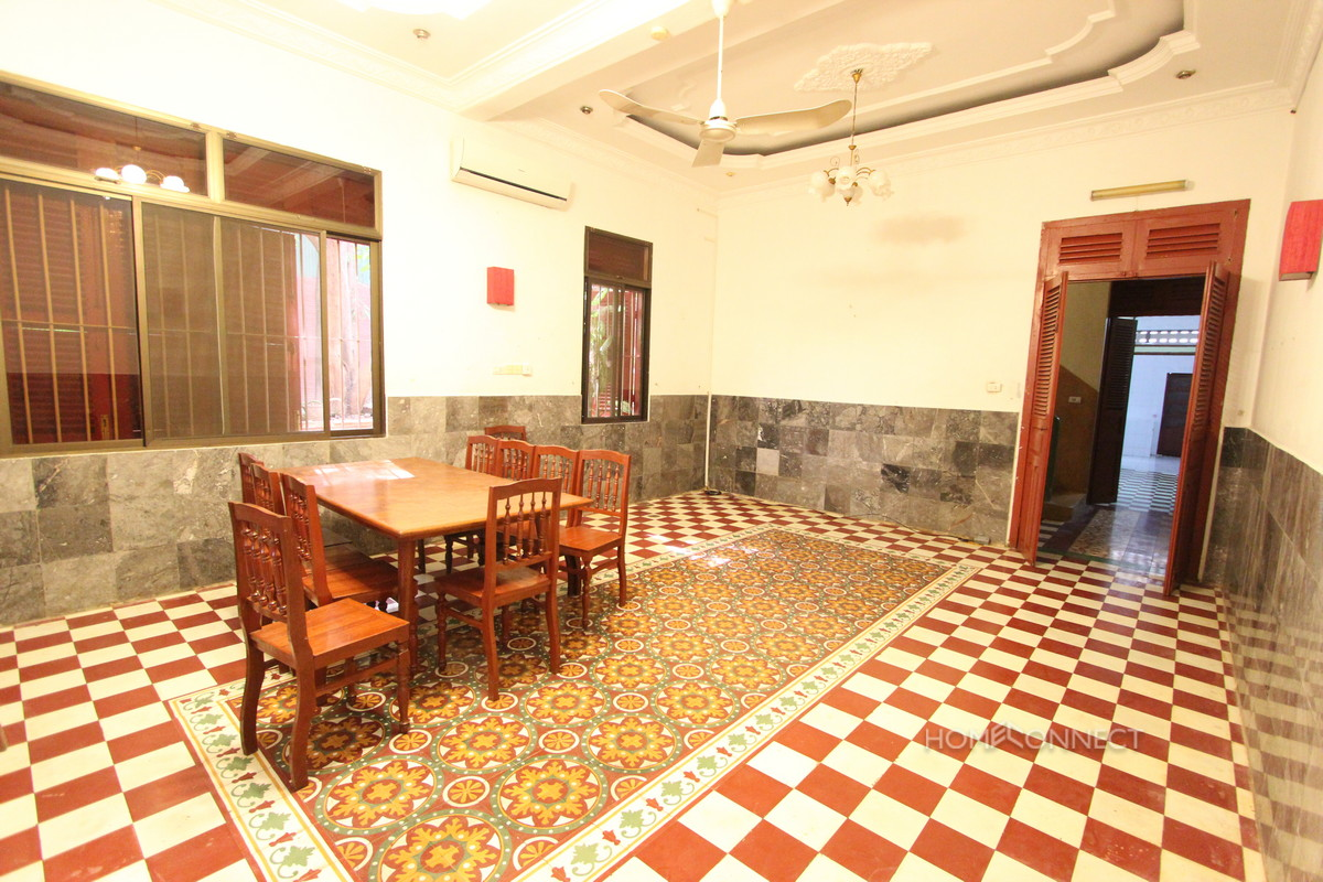 Large French Colonial Villa For Rent in Tonle Bassac | Phnom Penh Real Estate