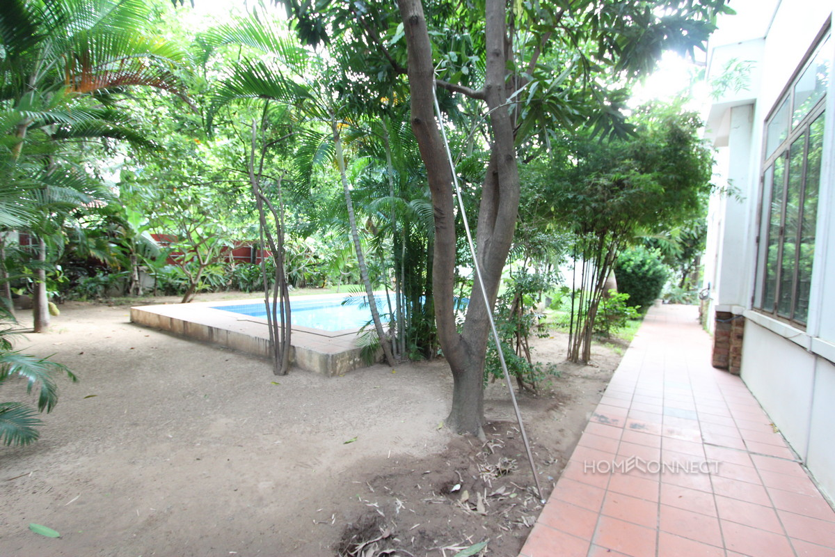 Private Pool Large Four Bedroom Villa For Rent in Chroy Chungva | Phnom Penh Real Estate