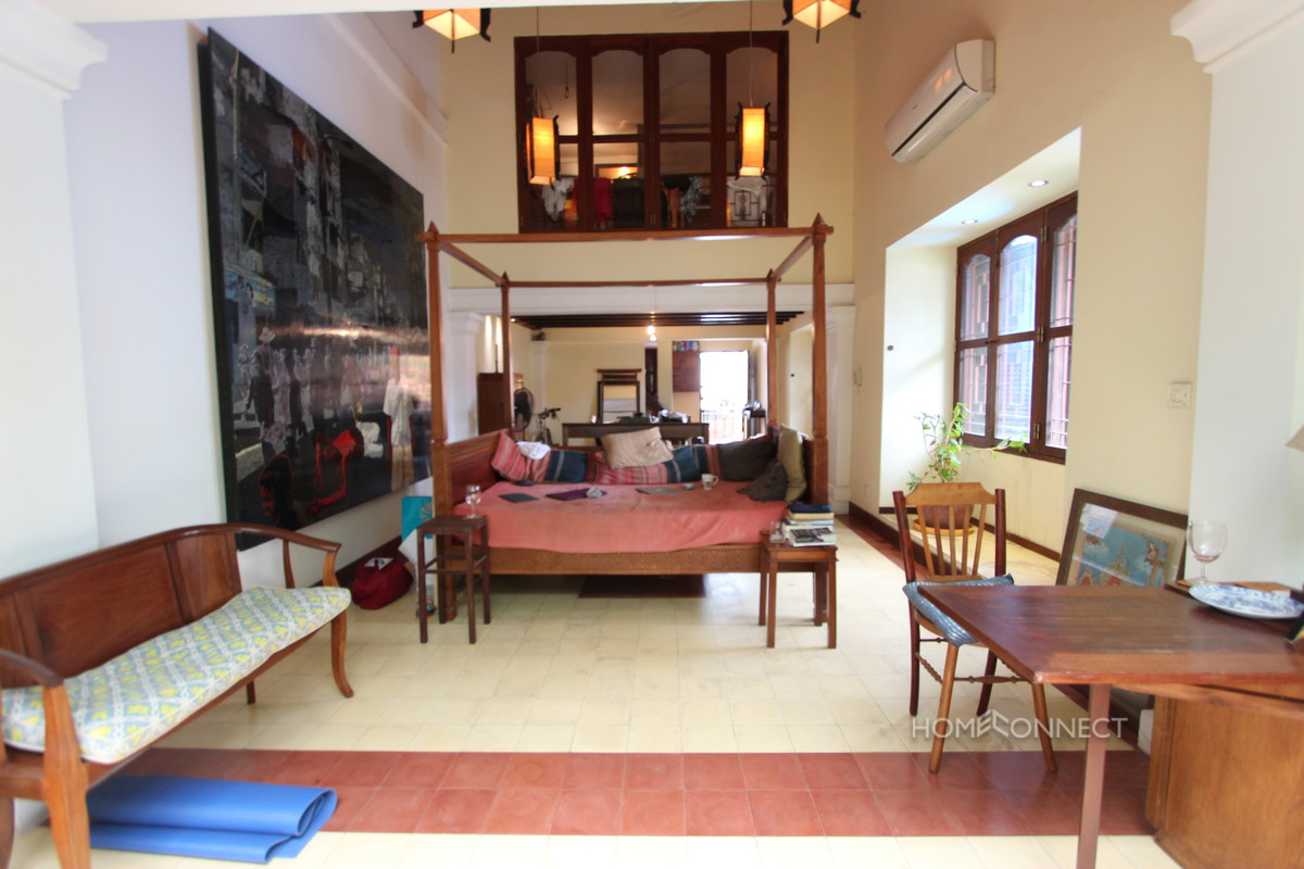 French Colonial 1 Bedroom Apartment Near Royal Palace For Rent   Phnom Penh Real Estate