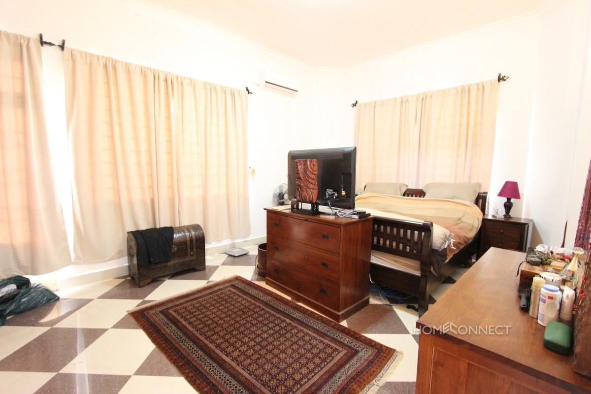 Large Private Garden 6 Bedroom Villa For Rent Near Russian Market| Phnom Penh Real Estate