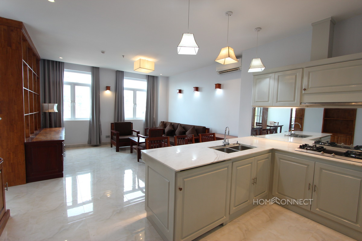 Western Style 1 Bedroom Apartment For Rent in Russian Market | Phnom Penh Real Estate