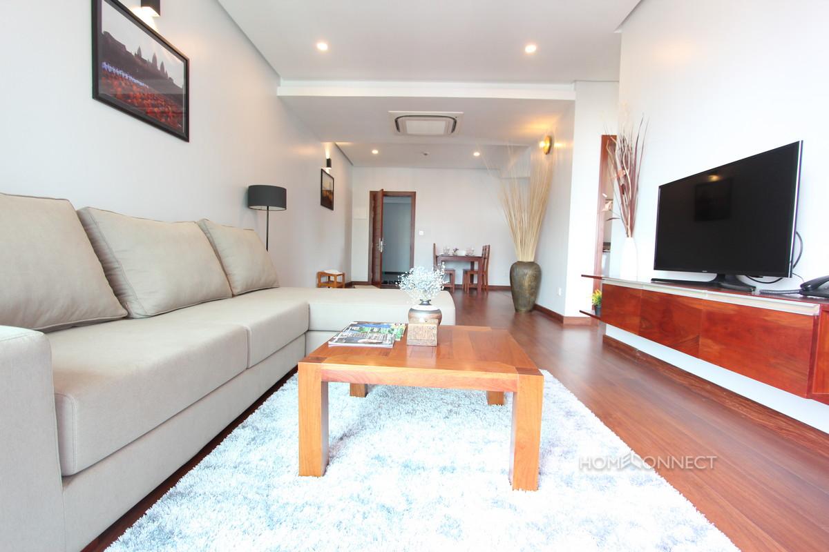 New Serviced 1 Bedroom 1 Bathroom Apartment in BKK1 | Phnom Penh Real Estate