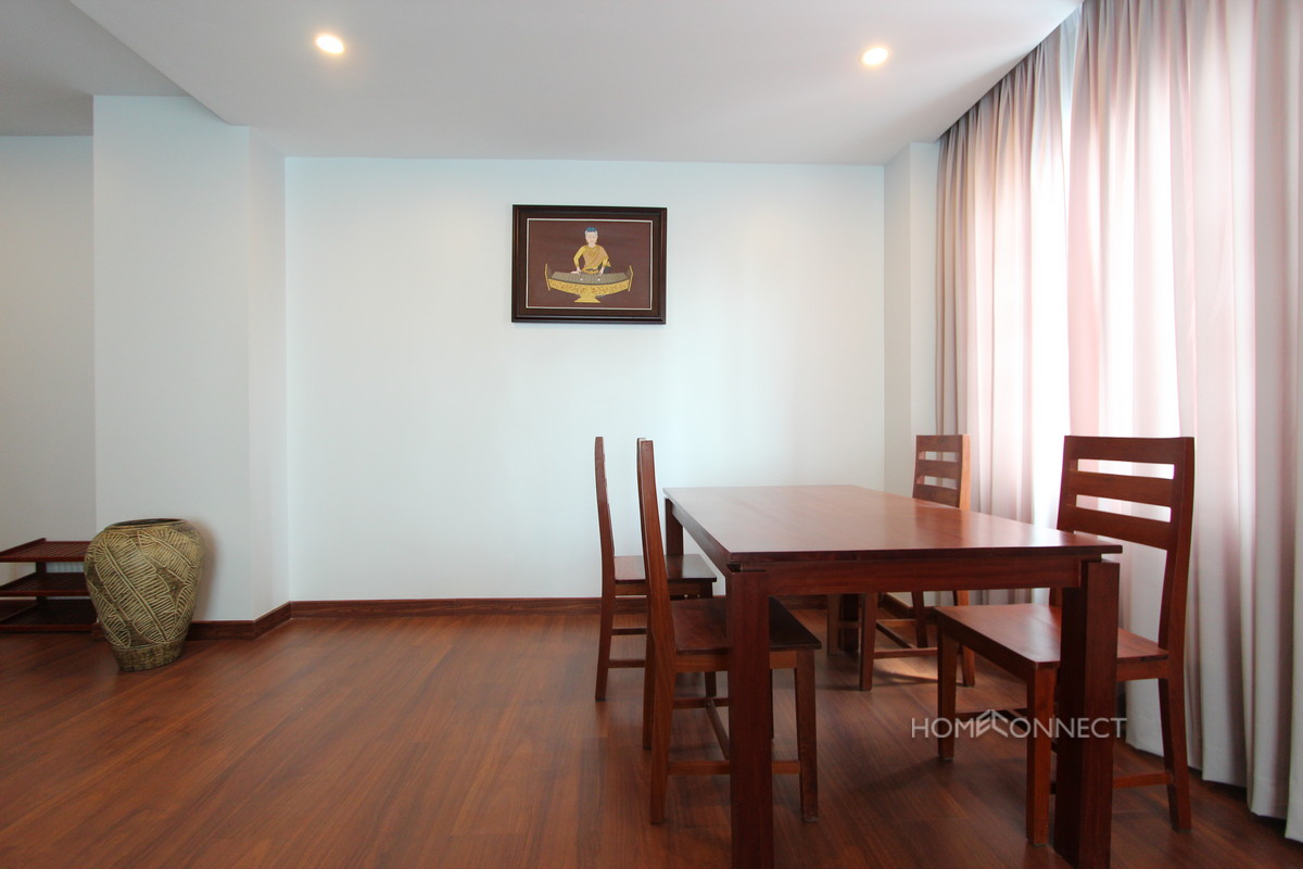 New Serviced 3 Bedroom 3 Bathroom Apartment in BKK1 | Phnom Penh Real Estate