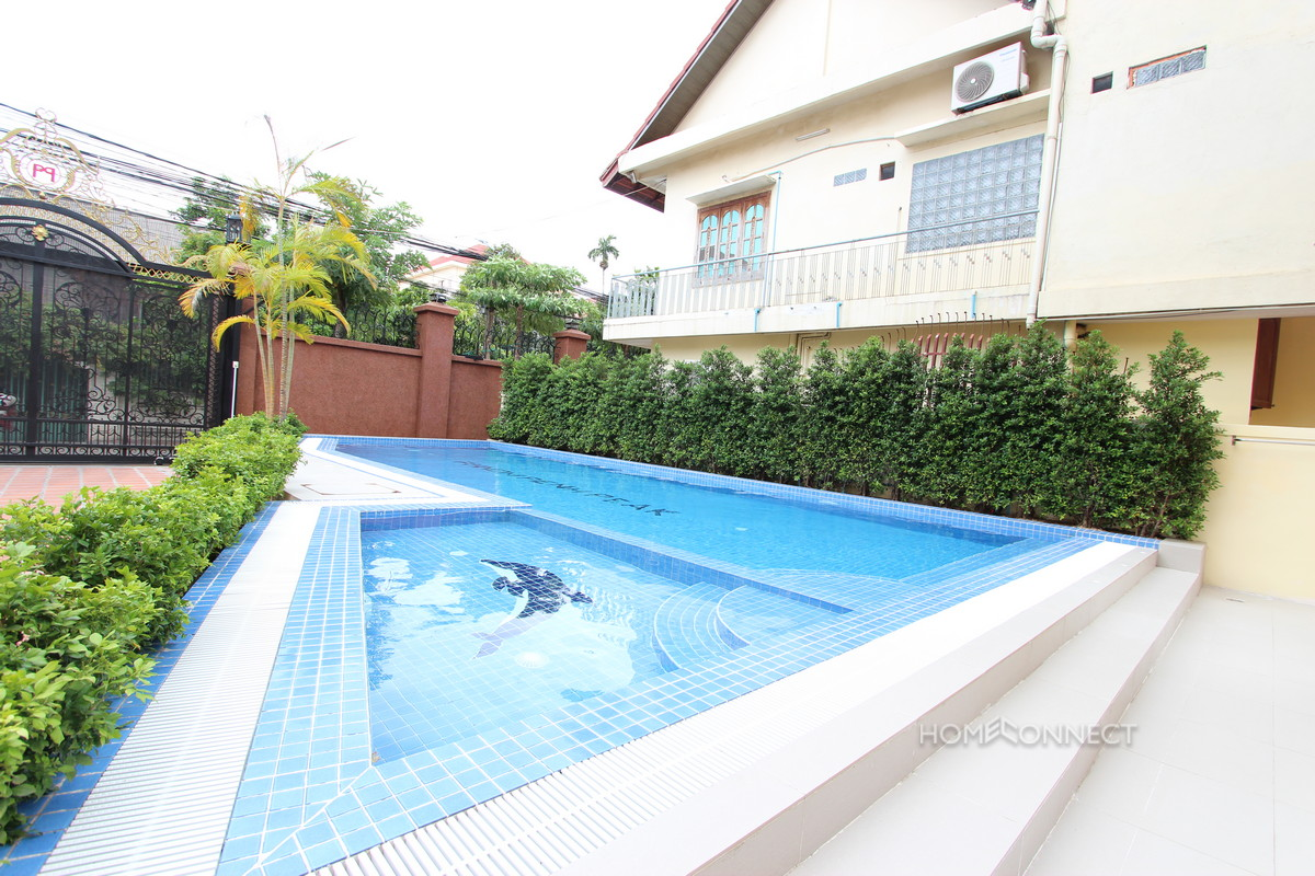 Western Style 2 Bedroom Apartment For Rent in Russian Market | Phnom Penh Real Estate