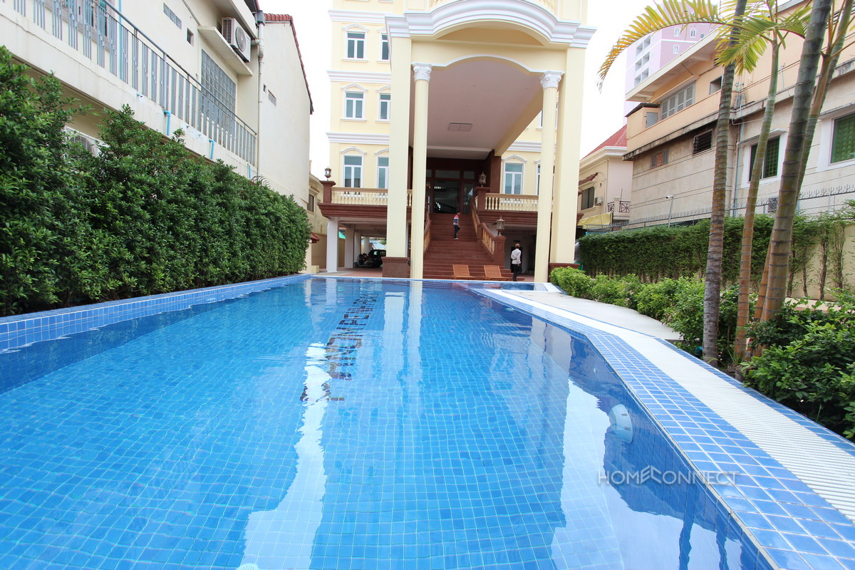 Western Style Studio Apartment For Rent in Russian Market | Phnom Penh Real Estate