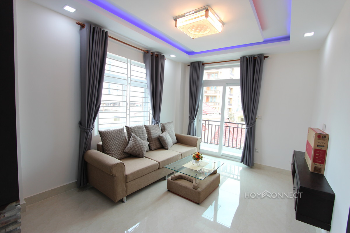 New 1 bedroom 1 bathroom apartment in toul tom poung russian market area phnom penh for Apartment 1 bedroom 1 bathroom