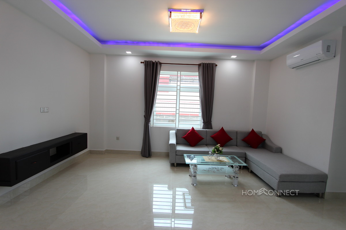New Stylish 2 Bedroom 2 Bathroom Apartment in Toul Tom Poung Russian Market Area | Phnom Penh Real Estate