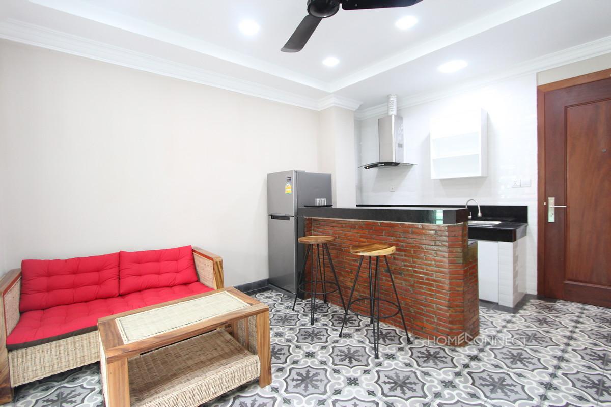 Modern 2 Bedroom 2 Bathroom Apartment For Rent in Daun Penh | Phnom Penh Real Estate Phnom Penh