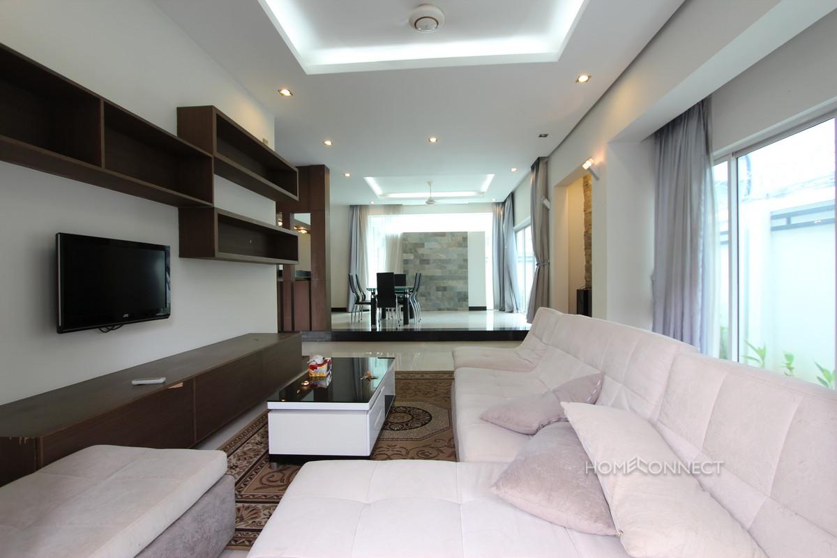 Western 3 Bedroom Family Villa For Rent Near Aeon Mall   Phnom Penh Real Estate