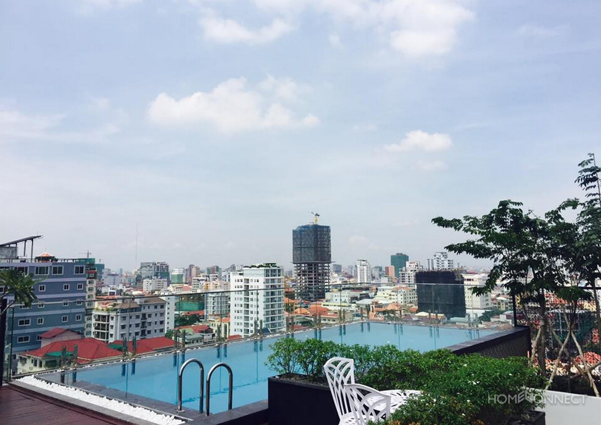 New Serviced 2 Bedroom 2 Bathroom Apartment in BKK1 | Phnom Penh Real Estate