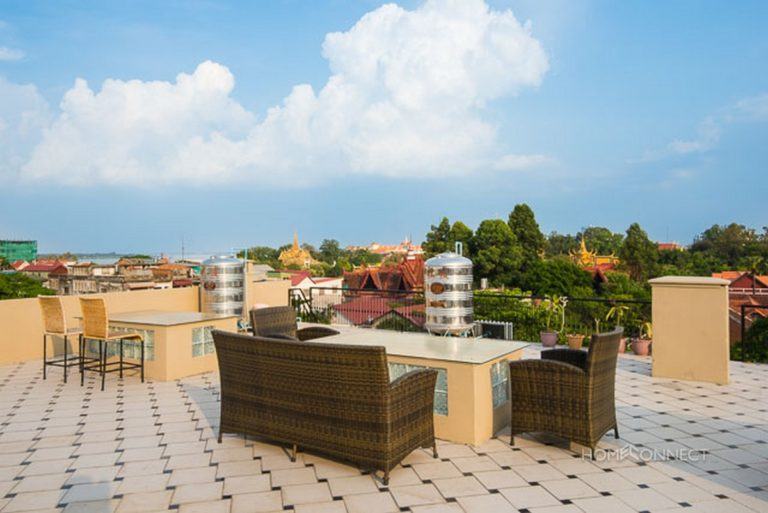 Western Style 2 Bedroom Apartment For Rent Near Riverside | Phnom Penh Real Estate