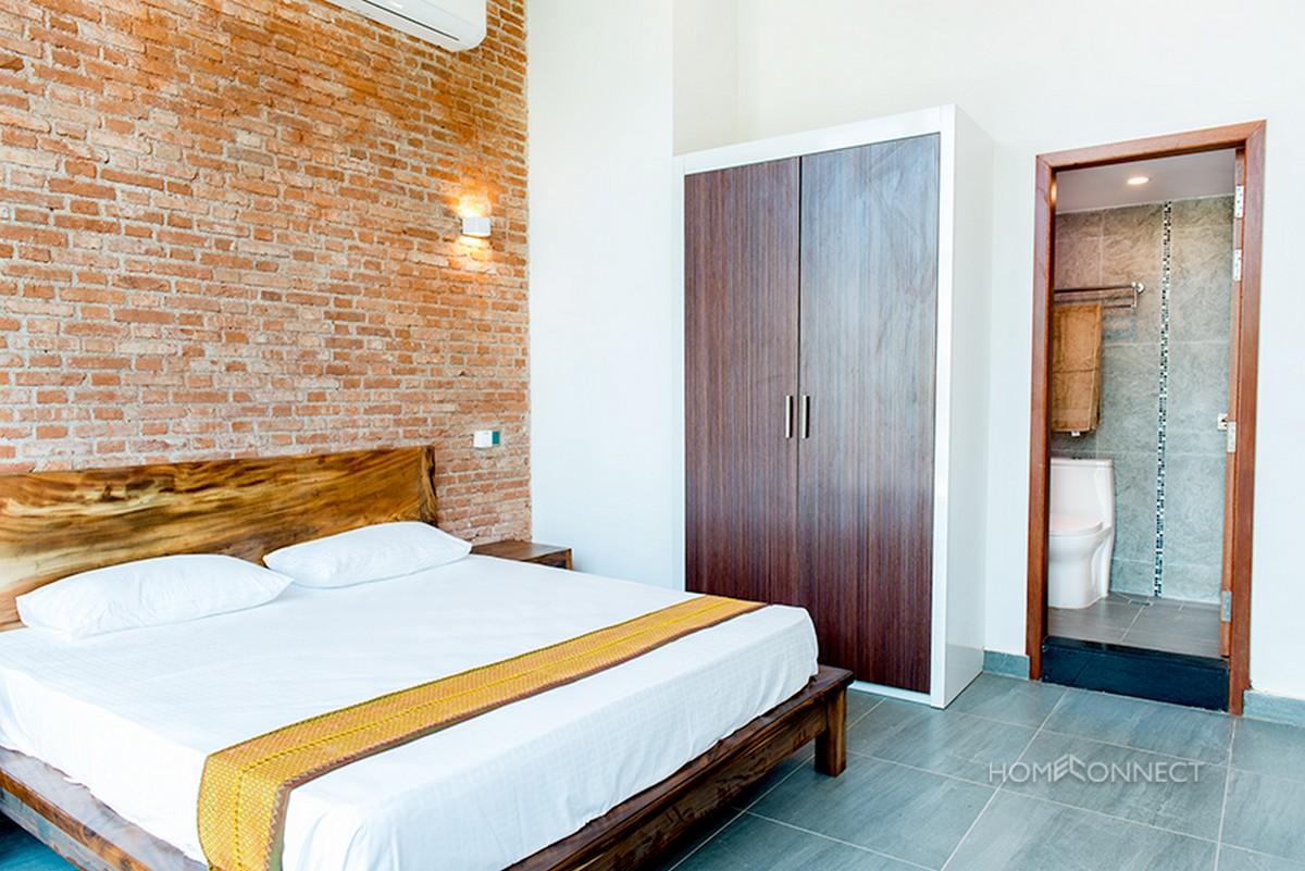 Modern 2 Bedroom 1 Bathroom Loft Apartment Near Wat Phnom | Phnom Penh Real Estate