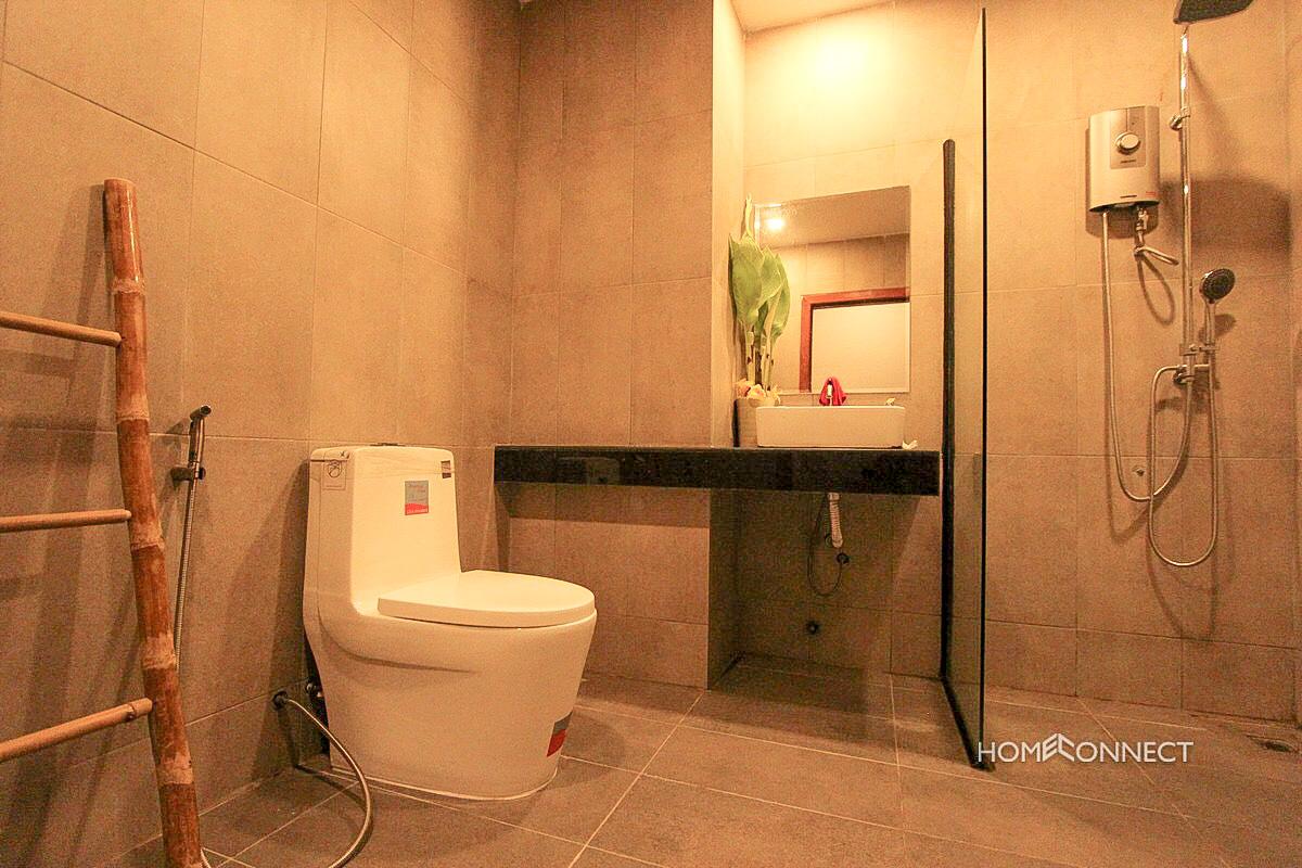 Brand New Modern 1 Bedroom 1 Bathroom Apartment for Rent Near Phsar Kandal | Phnom Penh Real Estate
