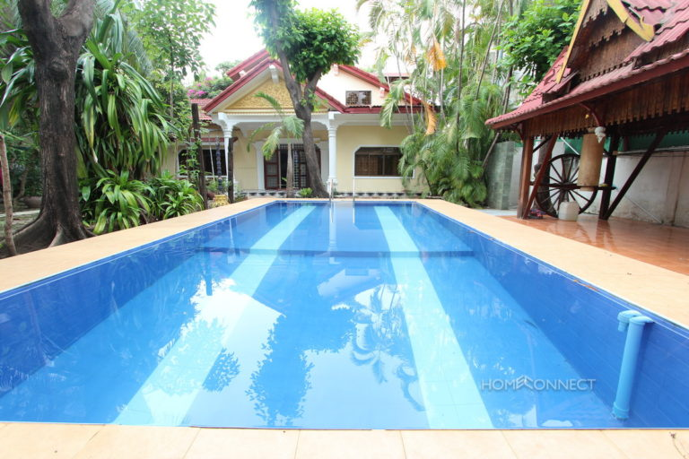 Private Pool Budget Villa with 3 Bedrooms 4 Bathrooms in Toul Kork   Phnom Penh Real Estate