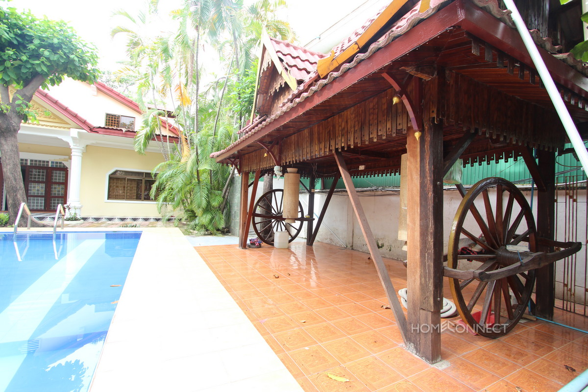 Private Pool Budget Villa with 3 Bedrooms 4 Bathrooms in Toul Kork | Phnom Penh Real Estate