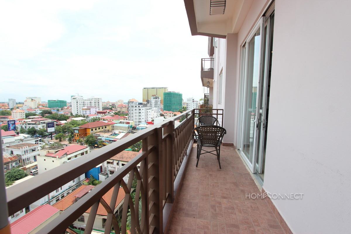 Huge Modern 2 Bedroom 2 Bathroom Apartment in BKK1   Phnom Penh Real Estate