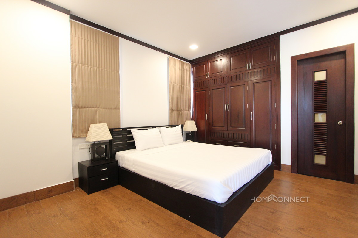 Spacious 1 Bedroom 1 Bathroom High Rise Apartment in BKK1 | Phnom Penh Real Estate