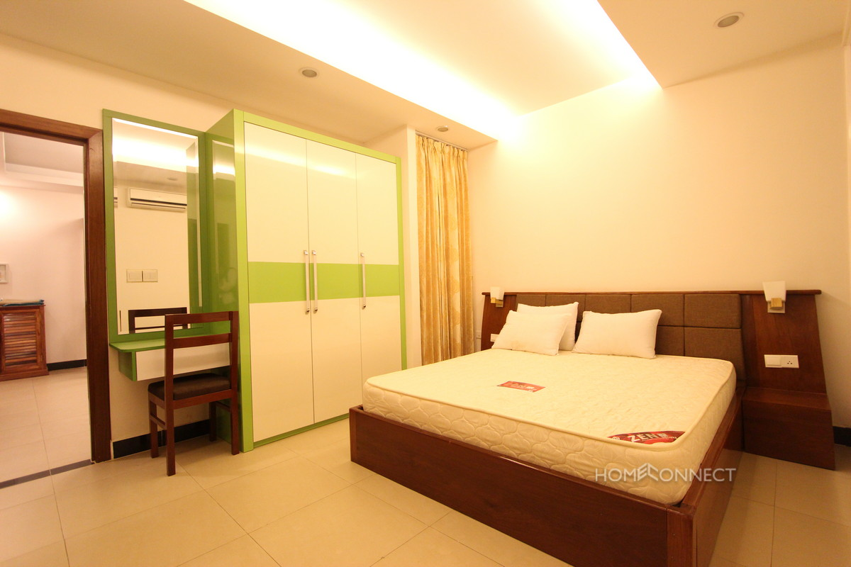 Modern | Serviced 2 Bedroom 2 Bathroom Apartment in Russie Keo | Phnom Penh Real Estate