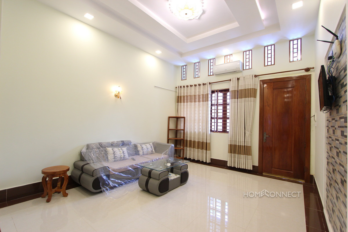 Newly Renovated 1 Bedroom 1 Bathroom Apartment Near the Riverside | Real Estate Phnom Penh