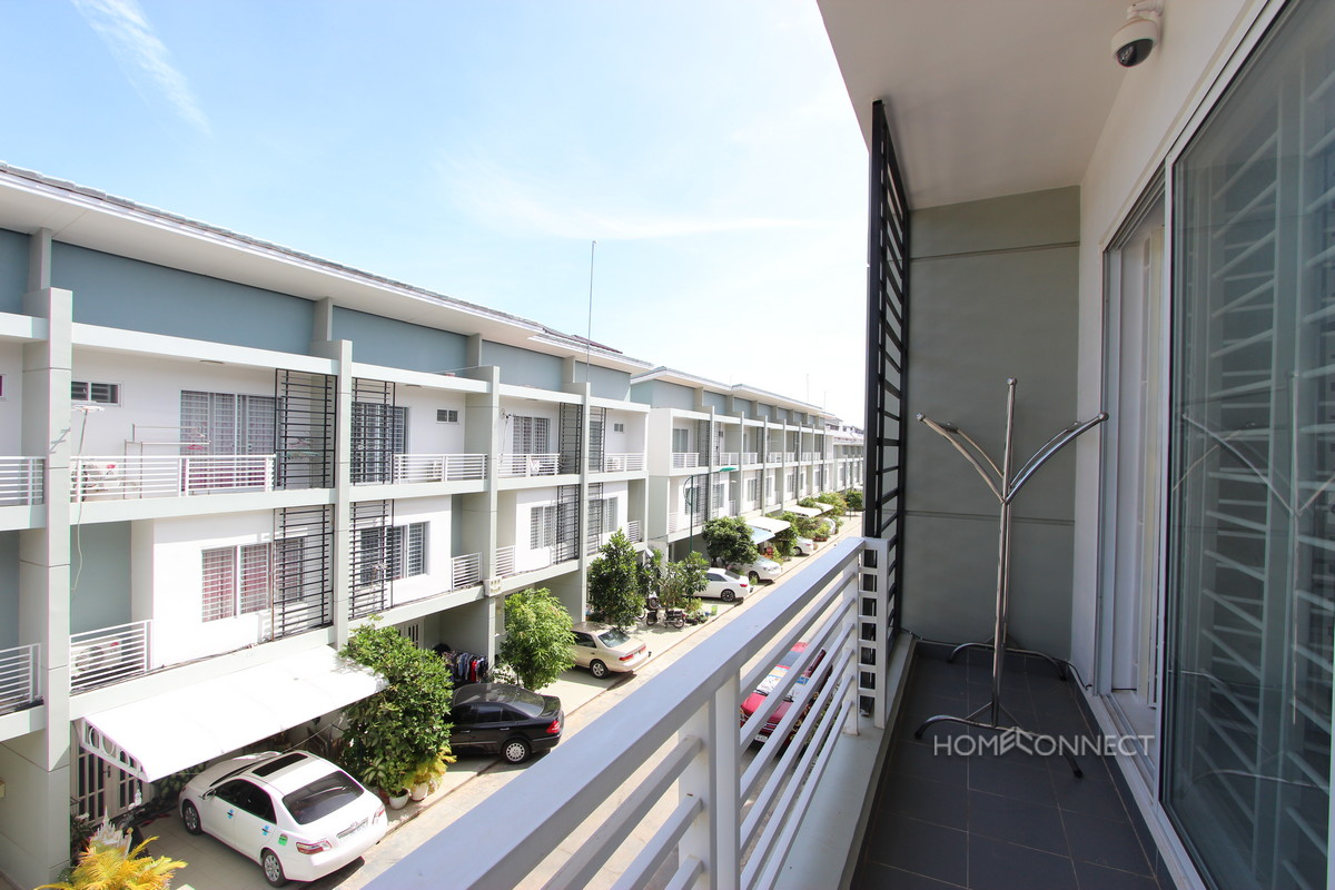 Modern 3 Bedroom 4 Bathroom Borey Peng Huoth Townhouse near Toul Kork | Phnom Penh Real Estate