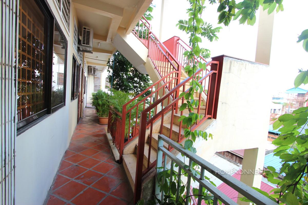 Cozy 1 Bedroom 1 Bathroom Apartment for Rent Near Riverside | Phnom Penh Real Estate