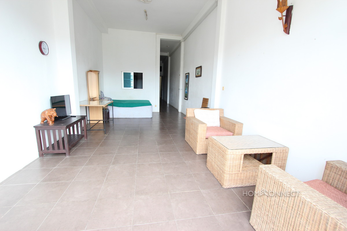 Budget 1 Bedroom 1 Bathroom Apartment For Rent Near Old Market Phnom Penh Apartments Villas
