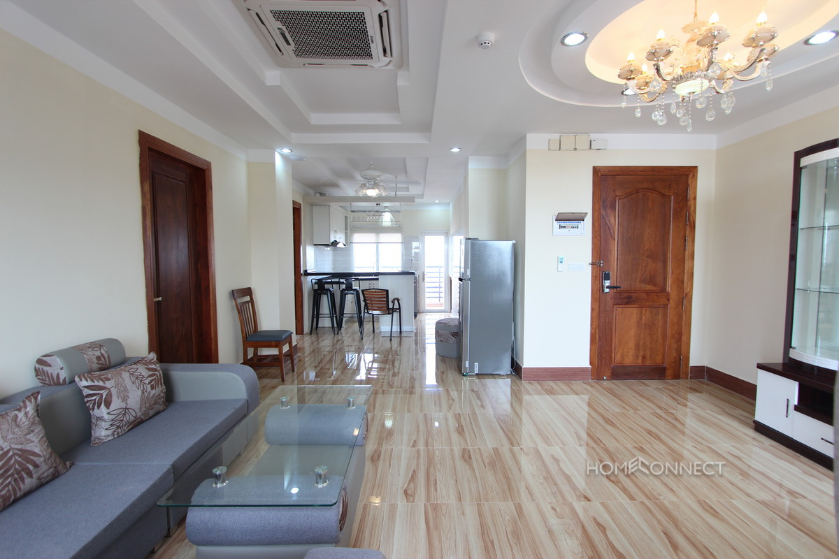 Brand New Modern 2 Bedroom 2 Bathroom Apartment Near Russian Market | Phnom Penh Real Estate