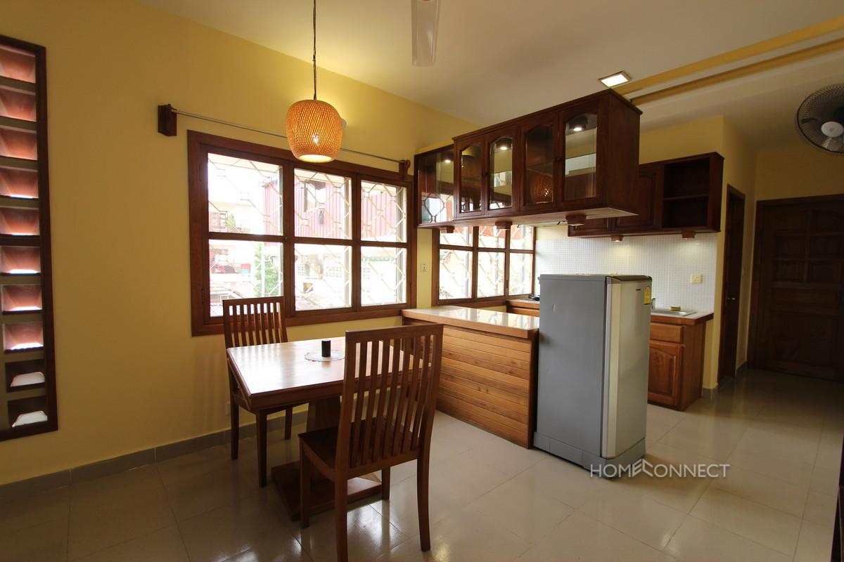 Comfortable 1 Bedroom 1 Bathroom Apartment for Rent in BKK1 | Phnom Penh Real Estate