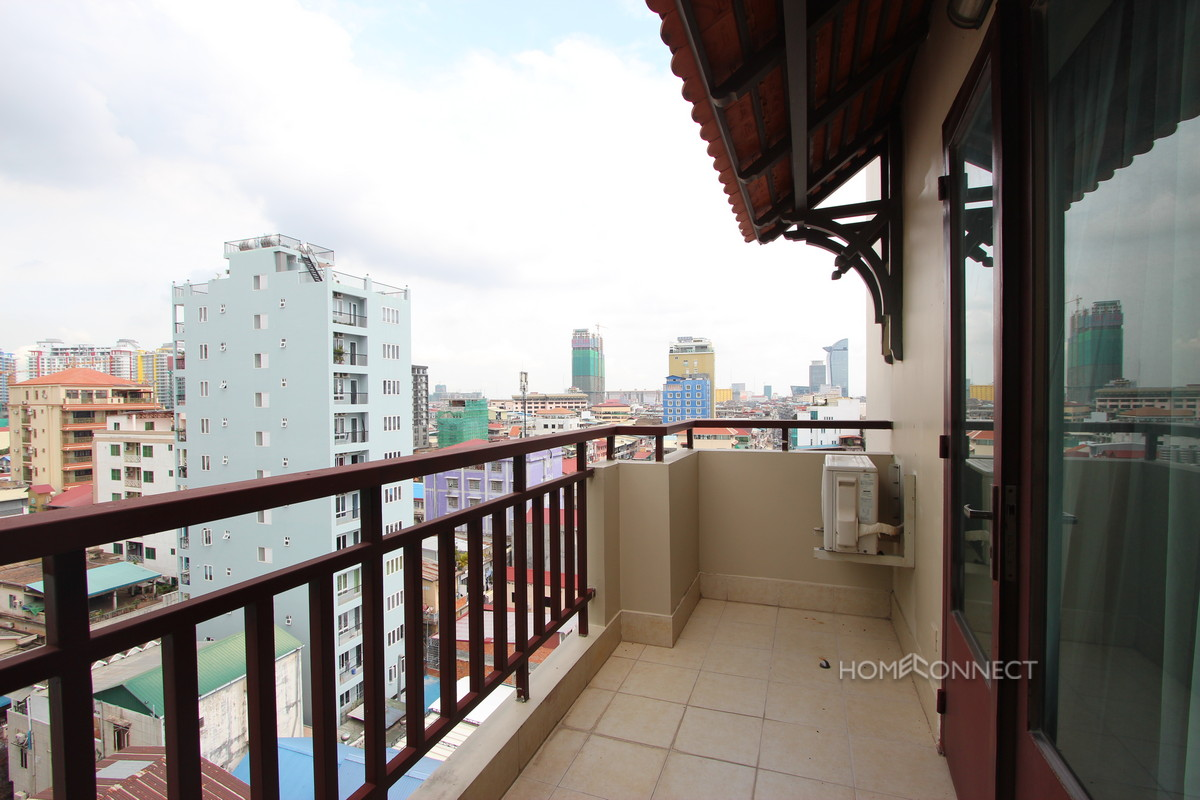 Serviced 2 Bedroom 2 Bathroom Apartment for Rent Near Olympic Stadium | Phnom Penh Real Estate