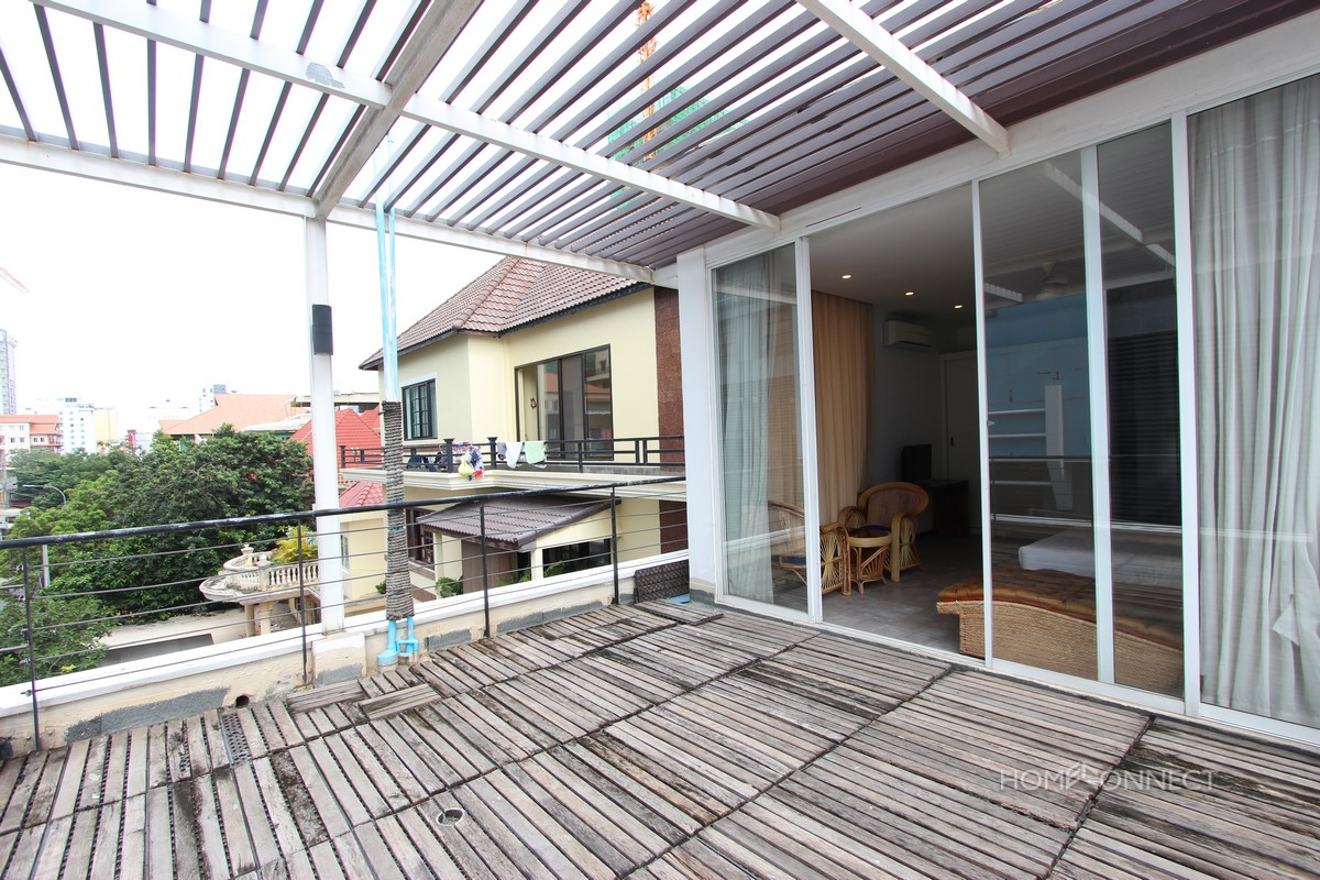 Contemporary Design 1 Bedroom Apartment For Rent in BKK1 | Phnom Penh Real Estate