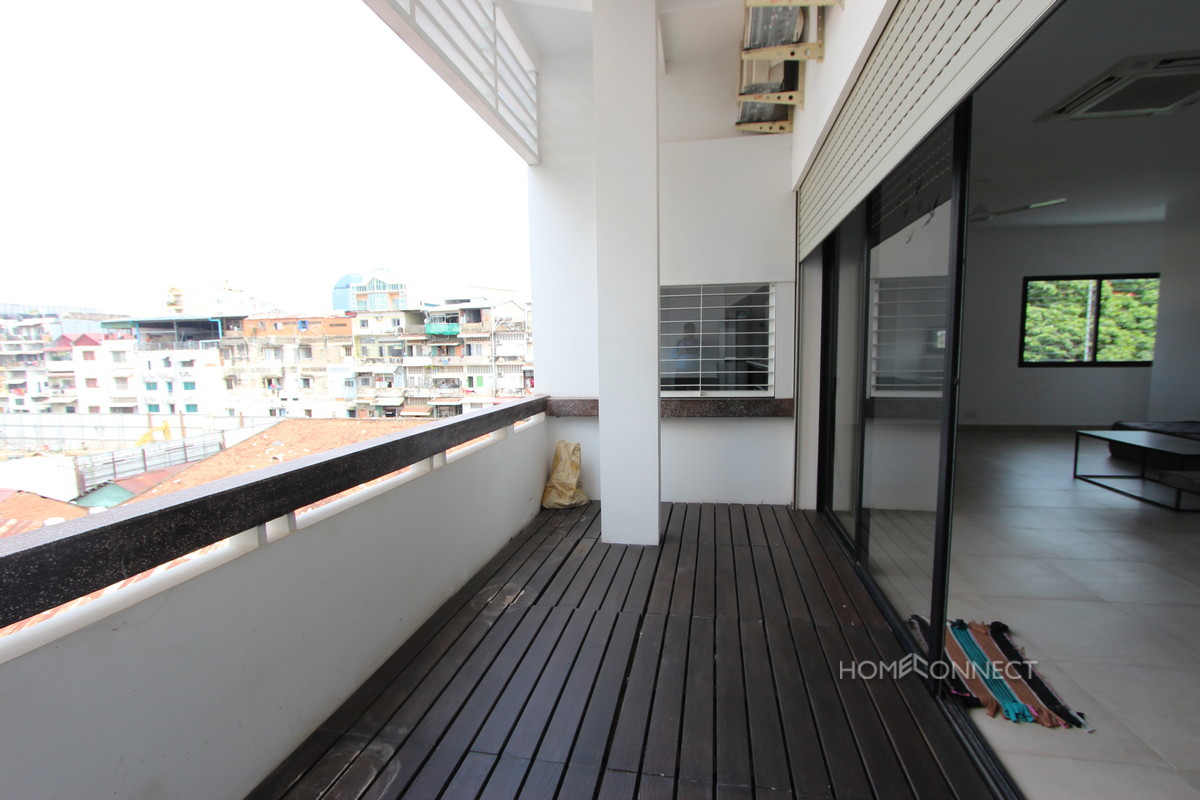 New Modern 2 Bedroom 3 Bathroom Apartment Near the Riverside | Phnom Penh Real Estate