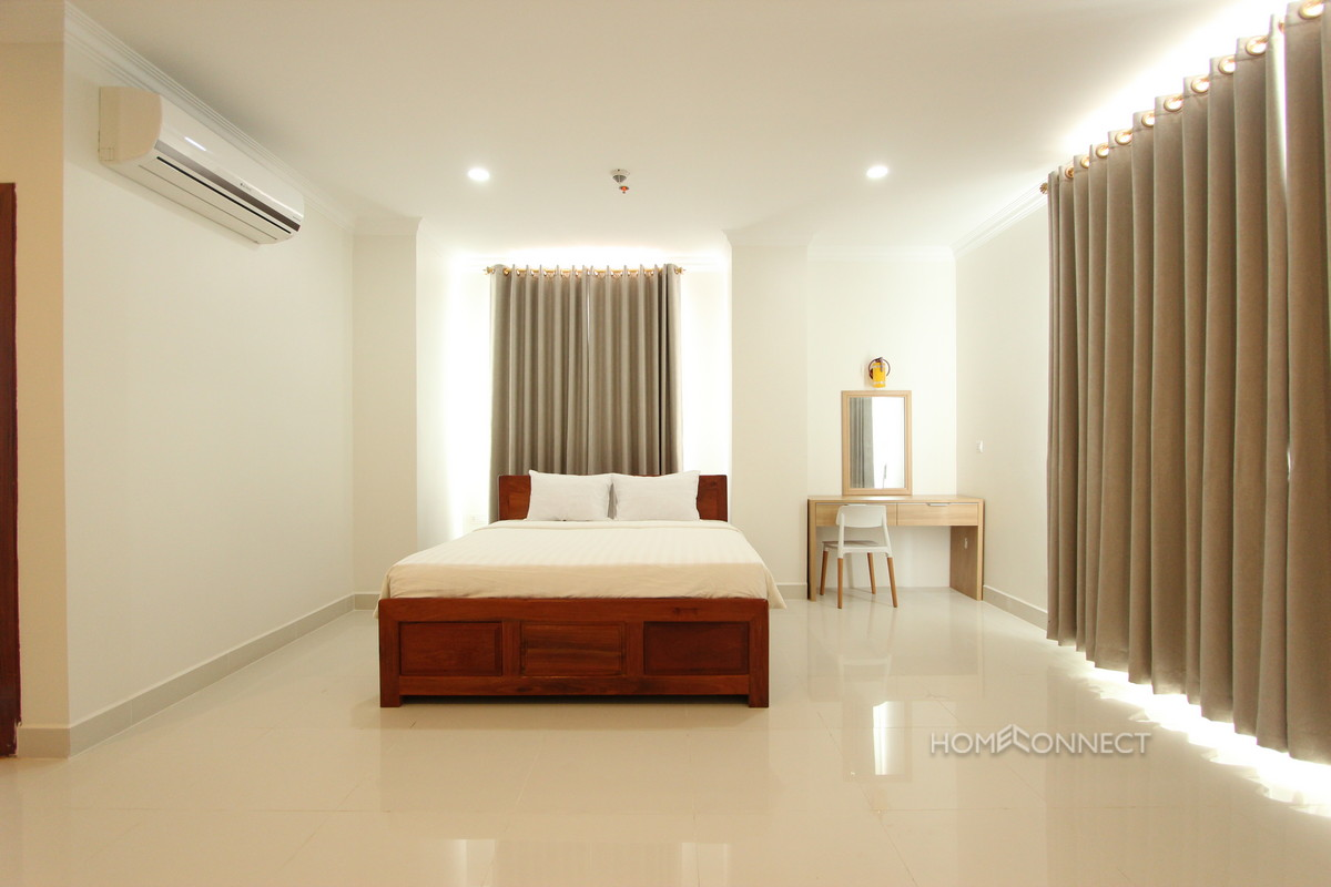 Western Style Large 3 Bedroom Apartment For Rent in BKK1 | Phnom Penh Real Estate