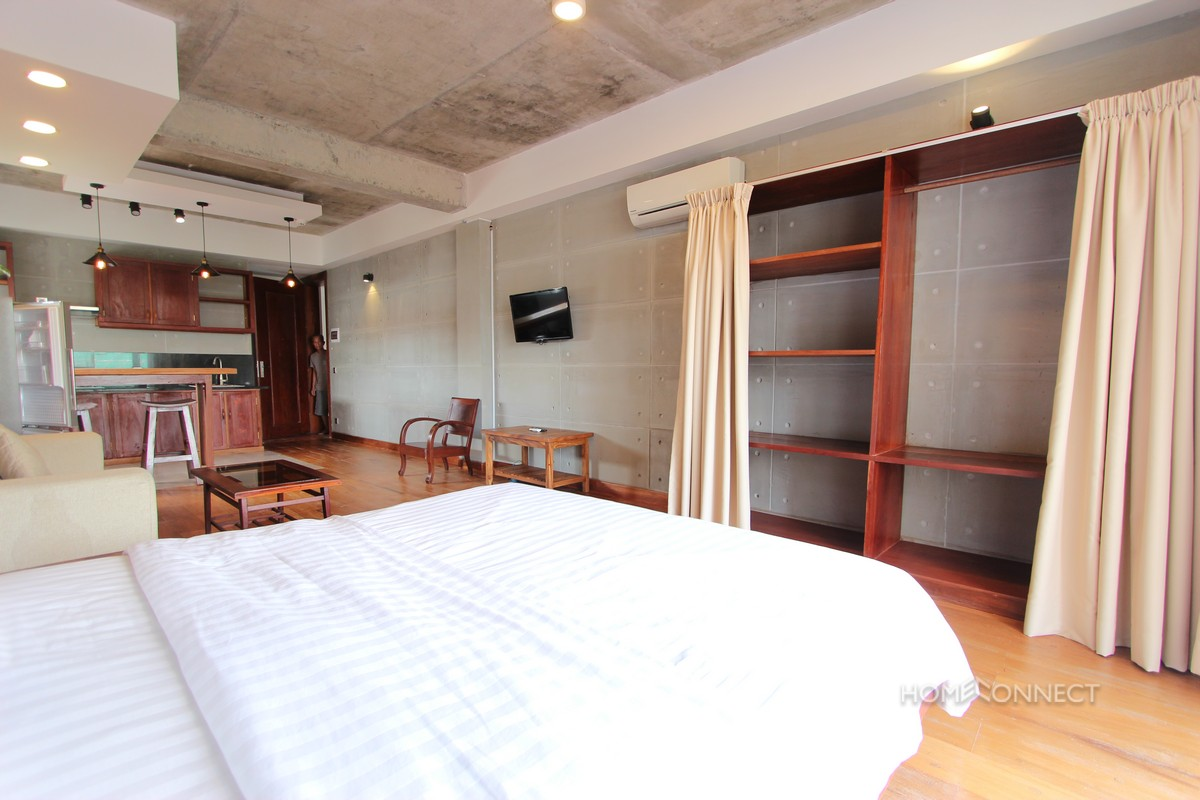 Serviced Studio Apartment for Rent in BKK1 | Phnom Penh Real Estate