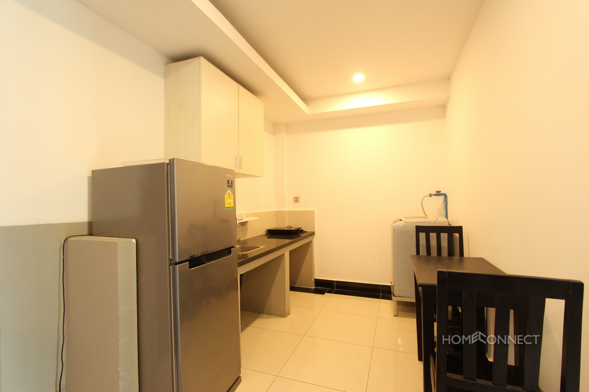 Budget 1 Bedroom 1 Bathroom Apartment for Rent Near Russian Market | Phnom Penh Real Estate